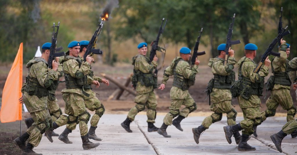 Mobilization of reservists in Russia.  The largest since the collapse of the Soviet Union