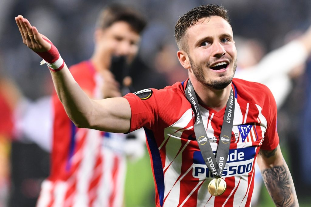 Saúl Ñíguez is one step away from moving on.  The English Premier League giants are fighting at home