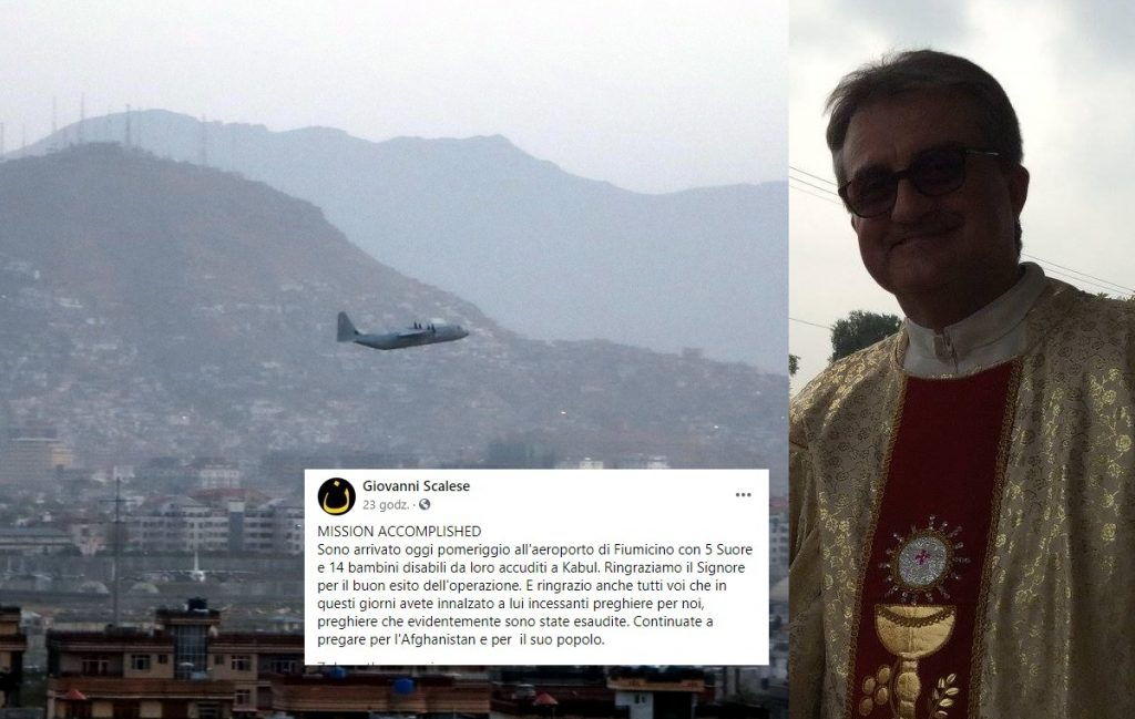 The only Catholic priest left Afghanistan