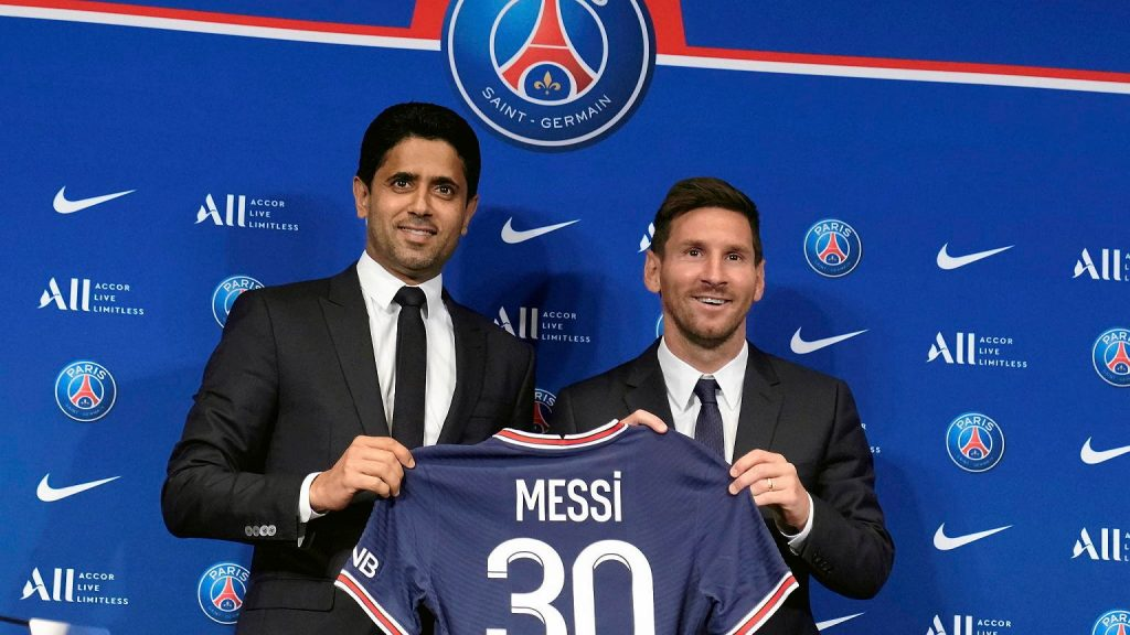 The president of Paris Saint-Germain answered the most important question in the Messi conference.  Football 'wait'