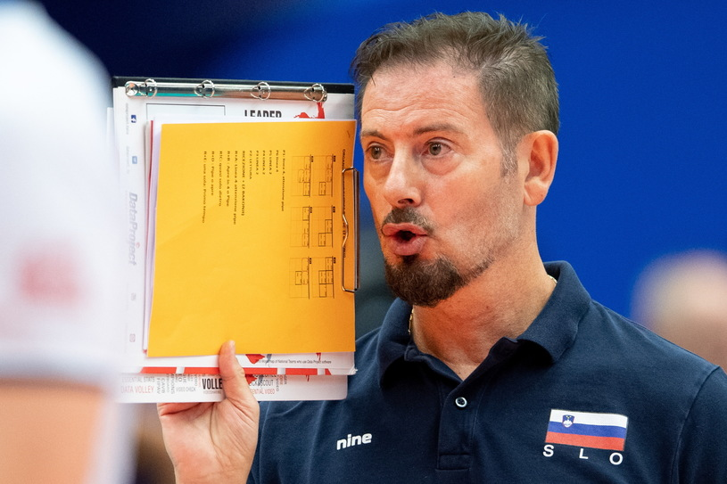 Alberto Giuliani led Slovenia to the semi-finals of the ME / PAP / EPA / LUKAS KABON / PAP / EPA for the second time