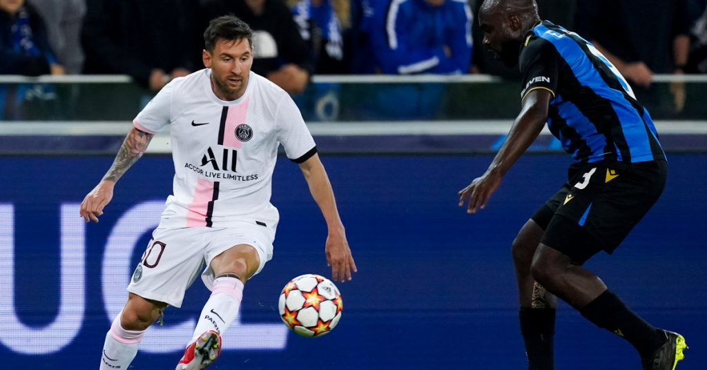 Champions League.  The agony of Paris Saint-Germain from Club Brugge, the Belgians stood