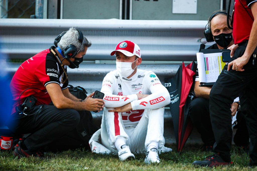 Good news for Robert Kubica.  The well-known pole position of the Italian Grand Prix