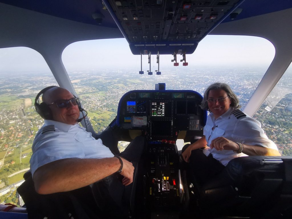 The ZFZ Zeppelin airship flew through Katowice, Techy, Bielsko-Biała and Sosnowiec.  look at the pictures [14.09.2021]