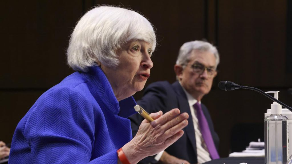United States of America.  Treasury Secretary Janet Yellen warns Congress of a financial crisis as the administration runs out of resources