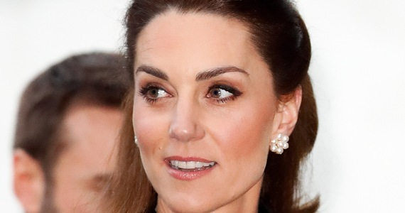 Princess Kate is surprised by the design!  Amazing what you wear!  And how much!