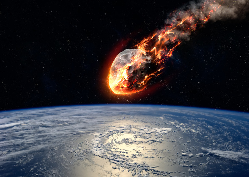 Will the destruction come from space?  It's not only the imagination of the filmmakers, but a real screenplay / 123RF / PICSEL