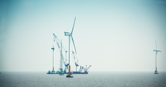 Clean energy from the Baltic Sea.  Ørsted and ZEPAK want to build offshore wind farms together