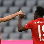 Benfica in the Champions League.  Alphonso Davies will not play due to injury