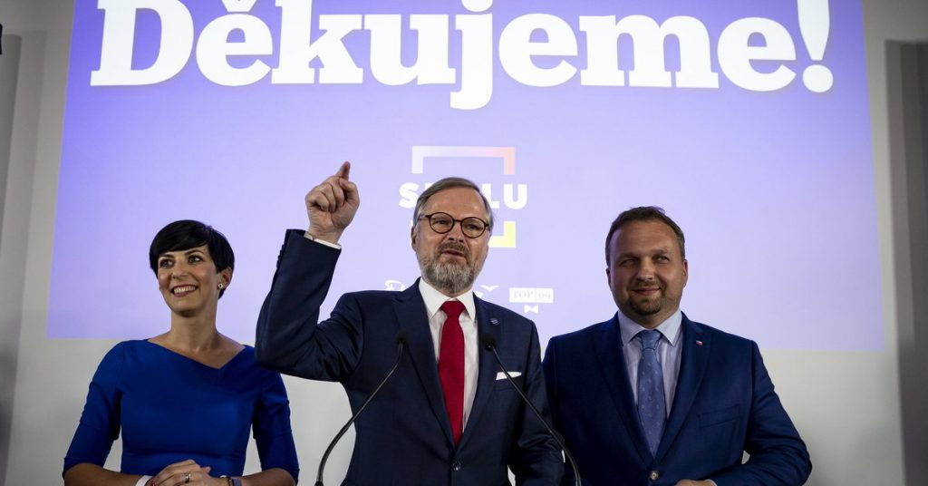 Elections in the Czech Republic.  The opposition wins and has a chance to form a government