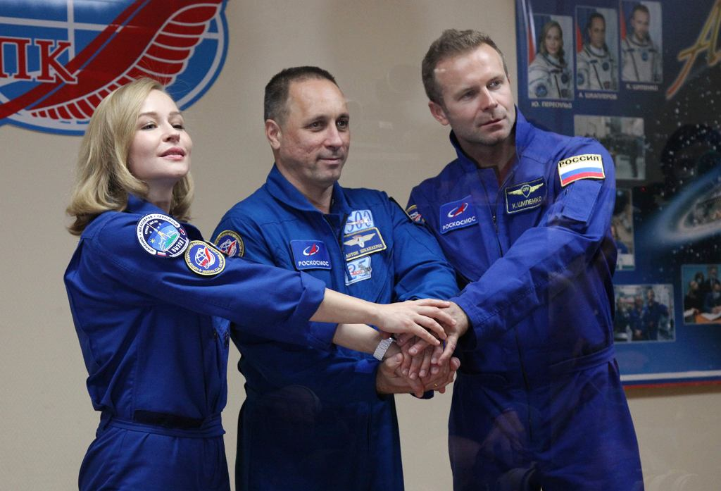 Russia in space movie